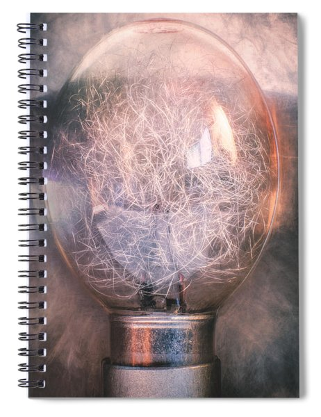 Flash Bulb Spiral Notebook