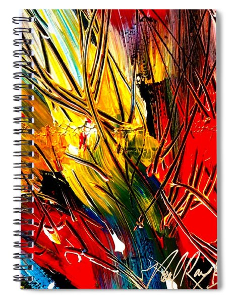 Flash Of Time Spiral Notebook