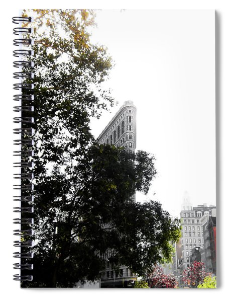 Flatiron Autumn  Spiral Notebook