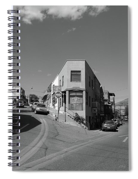 Flatiron Building, Jerome, Arizona Spiral Notebook