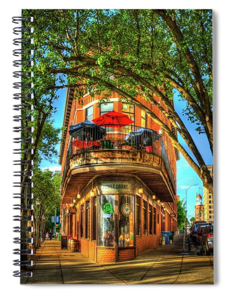 Flatiron Style Pickle Barrel Building Chattanooga Tennessee Spiral Notebook