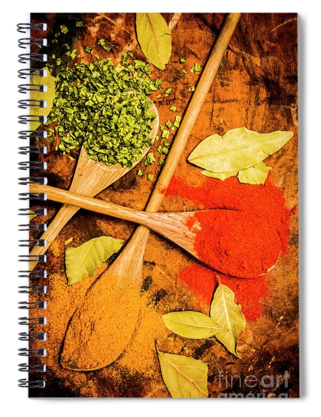 Flavours From The East Spiral Notebook