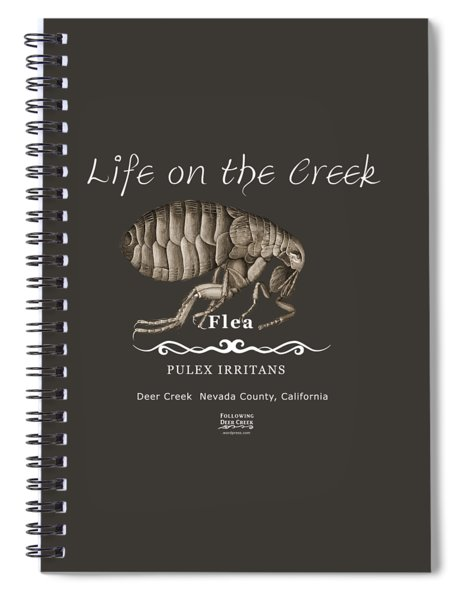 Flea Spiral Notebook