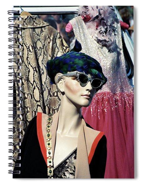 Flea Market Style Spiral Notebook