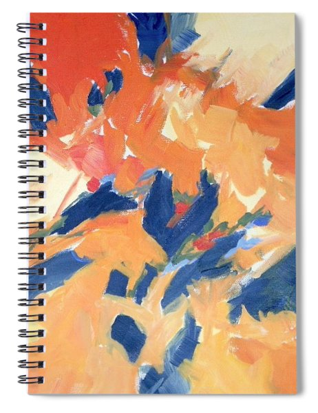 Fleeing Crows Spiral Notebook