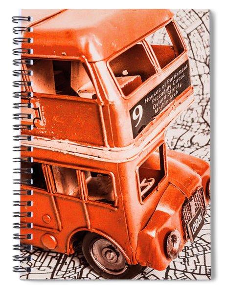 Fleet Street Spiral Notebook