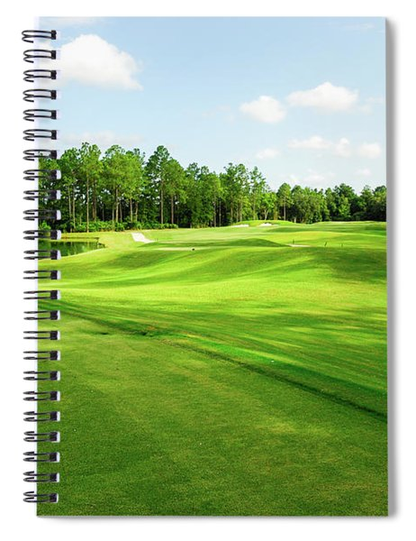 Fleming Island Golf Club Spiral Notebook