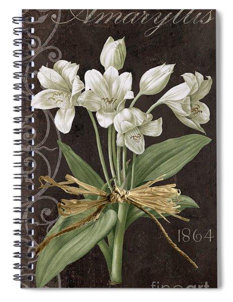 Fleurs De Paris Spiral Notebook