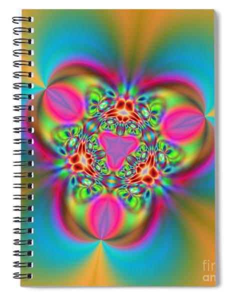 Flexibility 18ba Spiral Notebook