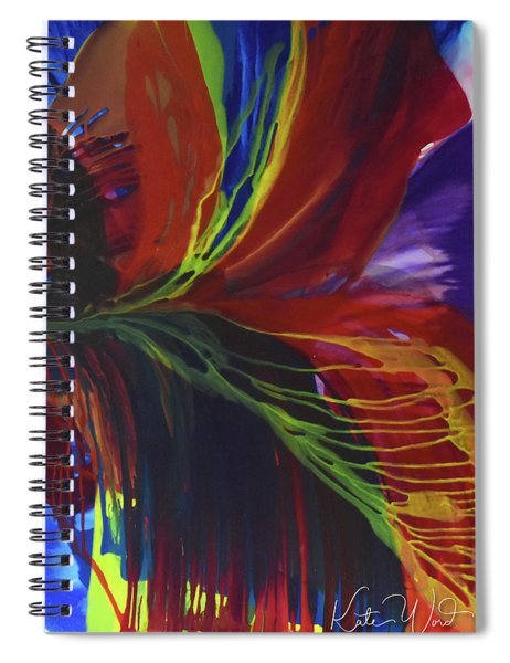 Flight To Freedom Spiral Notebook by Kate Word