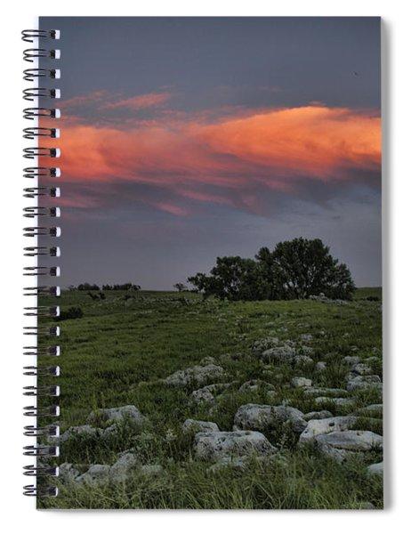 Flinthills Sunset Spiral Notebook