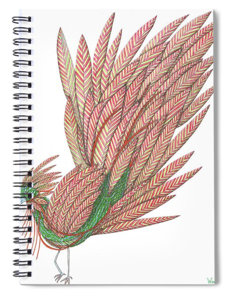 Flippy The Feather Duster, The Exotic Bird Spiral Notebook