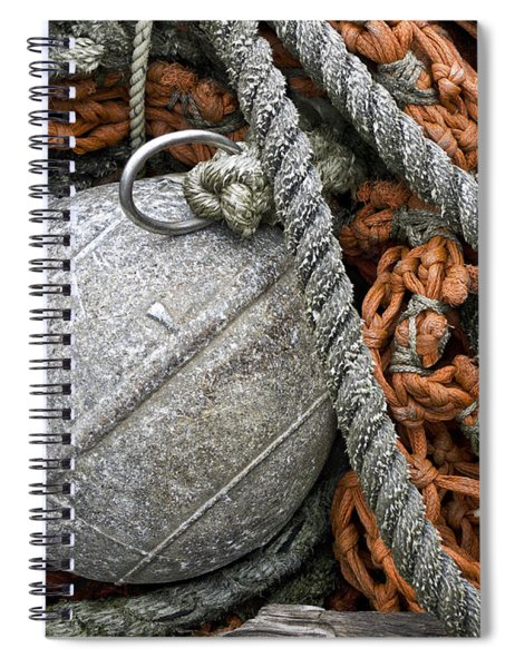 Float And Fishing Nets Spiral Notebook