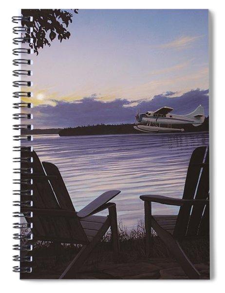 Float Plane Spiral Notebook