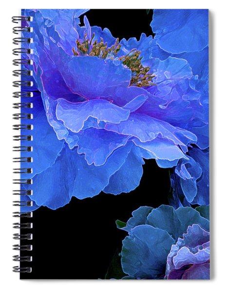 Floating Bouquet 10 Spiral Notebook