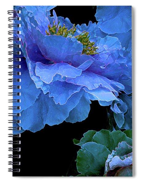 Floating Bouquet 14 Spiral Notebook