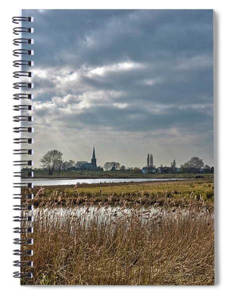 Floodplains Near Culemborg Spiral Notebook