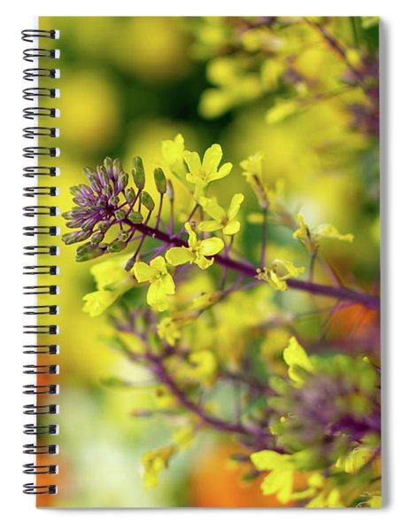 Flora Flora Flora Spiral Notebook