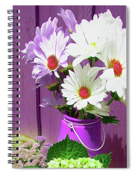 Floral Art 335 Spiral Notebook