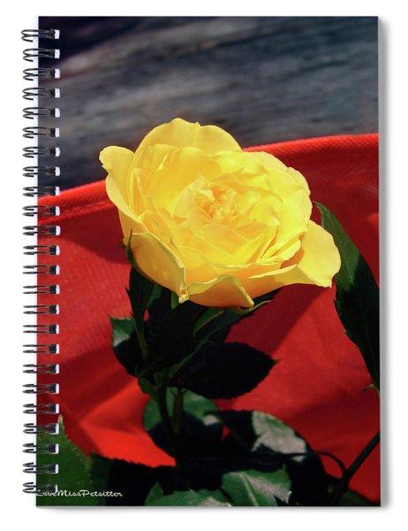 Floral Art 6 Spiral Notebook