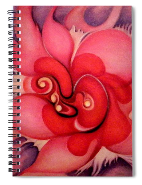 Floral Energies Spiral Notebook
