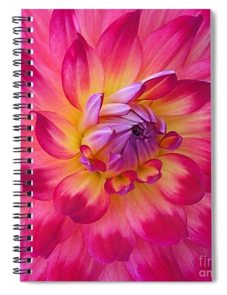 Floral Fantasia Spiral Notebook