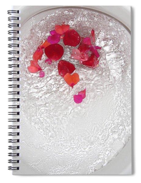 Floral Flush Spiral Notebook
