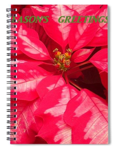 Floral Greetings Spiral Notebook