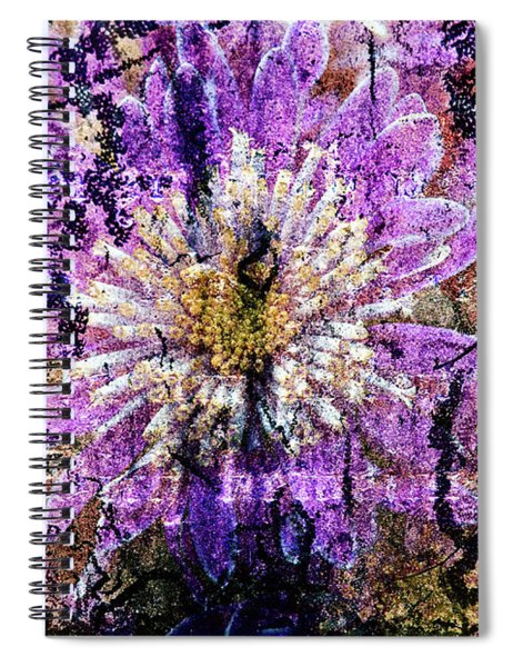 Floral Poetry Of Time Spiral Notebook