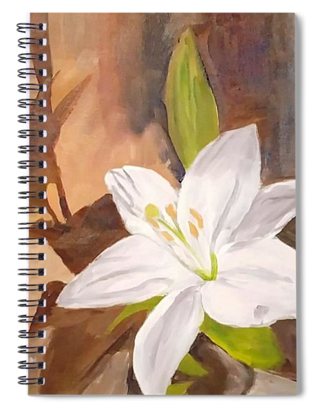 Floral-still Life Spiral Notebook