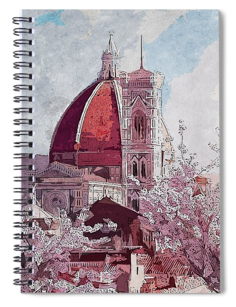 Florence - 16 Spiral Notebook