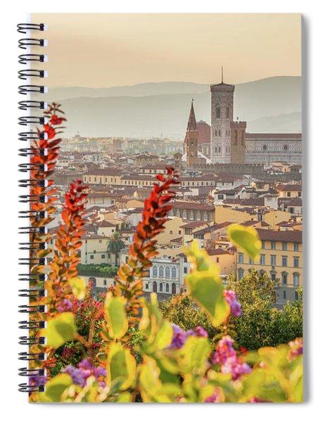 Florence In Summer Spiral Notebook