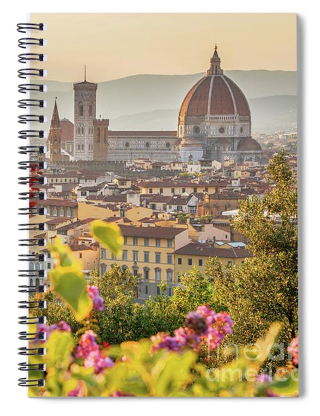 Florence In Summer Spiral Notebook