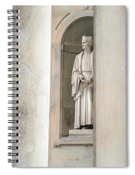 Florence Statue Spiral Notebook