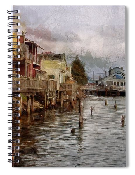 Scene On The Siuslaw  Spiral Notebook