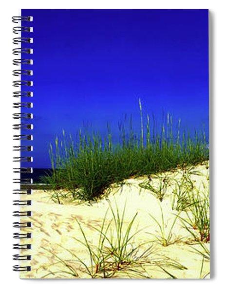 Florida Daytona Beach Sand Dunes Spiral Notebook