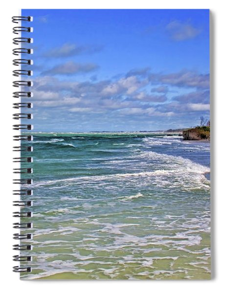 Florida Gulf Coast Beaches Spiral Notebook