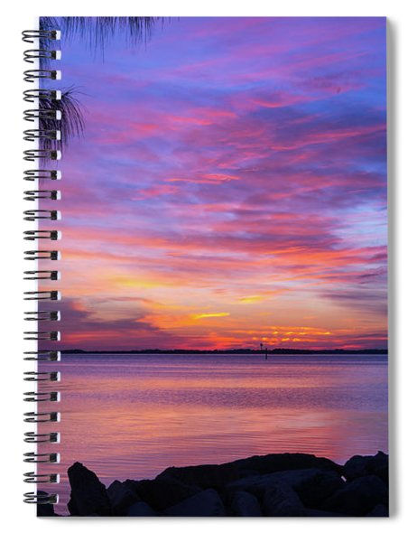 Florida Sunset #2 Spiral Notebook