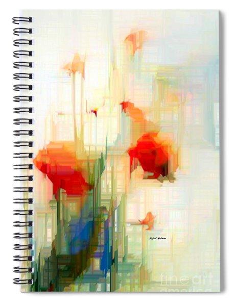 Flower 9230 Spiral Notebook