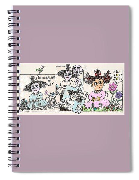 Flower-child Spiral Notebook