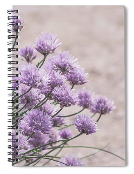 Flower Chives Spiral Notebook