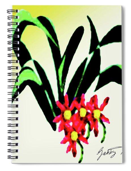 Flower Design #2 Spiral Notebook