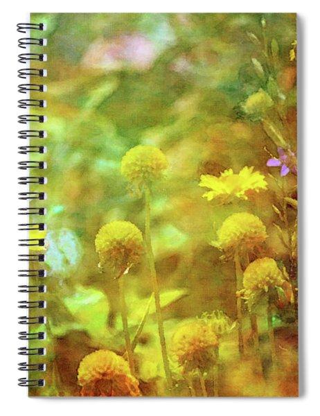 Flower Garden 1310 Idp_2 Spiral Notebook