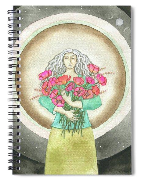 Flower Love Spiral Notebook