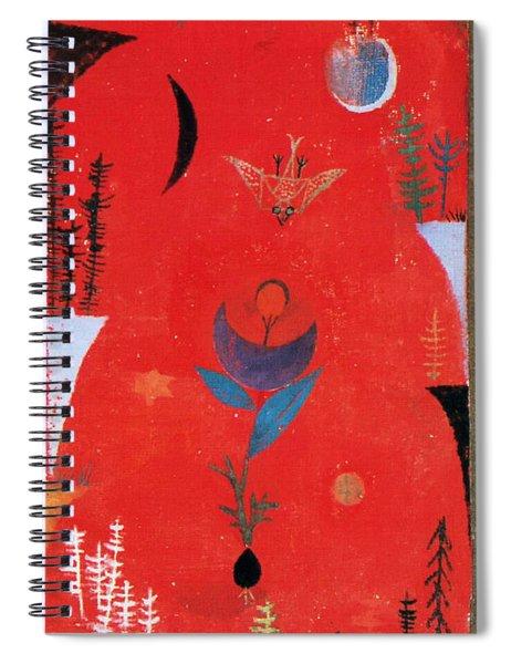 Flower Myth Spiral Notebook