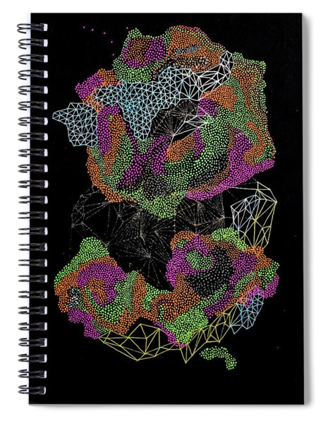 Flower Of Life Spiral Notebook