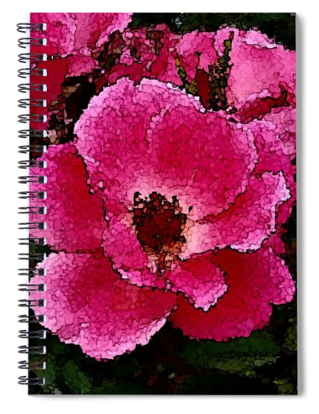 Flower Painting Collection 19 Spiral Notebook