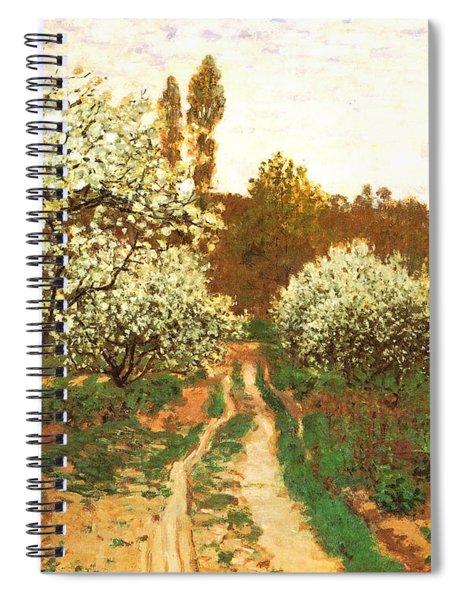 Flowering Apple Trees Spiral Notebook