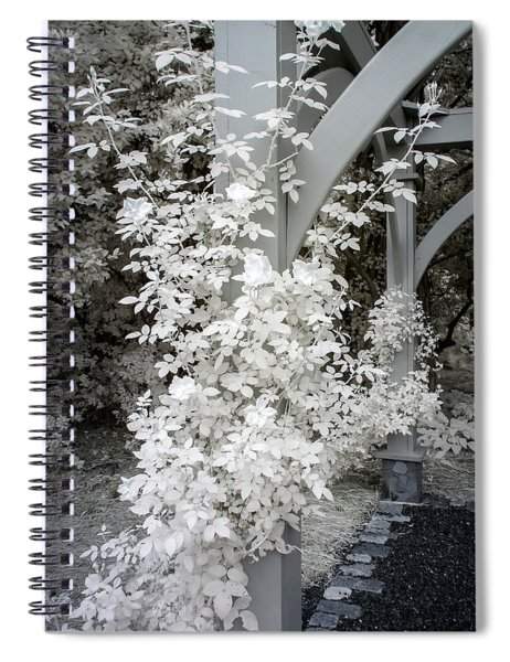 Flowering Arbor In Infrared Spiral Notebook