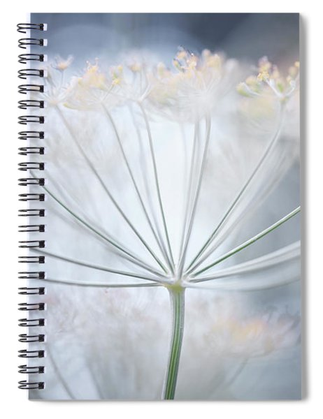 Flowering Dill Details Spiral Notebook